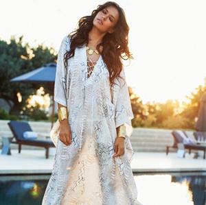 Ibiza style jurk