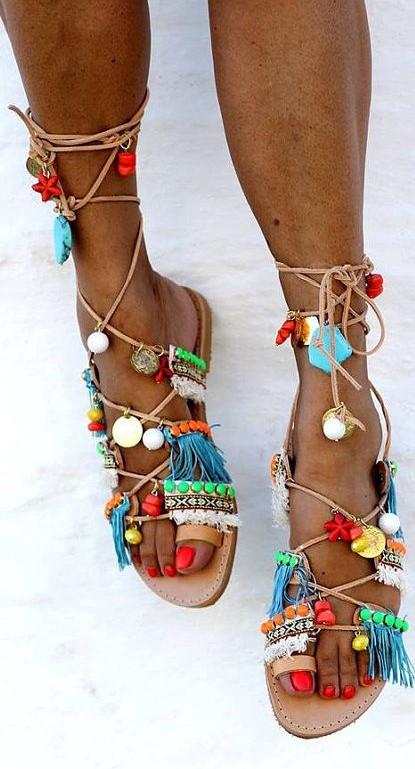 Ibiza flip flops