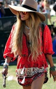 Ibiza style hoeden